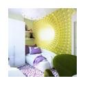 Светлый декор стен, белая мебель, отсутствие плотных штор. Все эти приемы мы использовали, что визуально расширить пространство детской, наполнить ее светом, легкостью, позитивом.