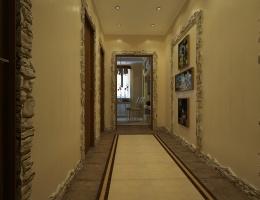 Самый оригинальный и притягательный элемент коридора — «уголок путешественника», который украшен яркими и живыми фото разных мест.