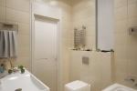 У светлой уютной ванной комнаты есть только один минус: здесь просто не замечаешь течение времени, в остальном — исключительно приятные чувства и эмоции.