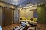 В этой гостиной соблюдается принцип минимализма: мебель ровно столько, сколько необходимо для комфортной жизни.